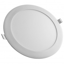 Placa LED Ultrafina circular 18W 220mm 1750 Lm