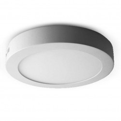 Downlight LED de superficie circular 18W 225mm 1630 Lm