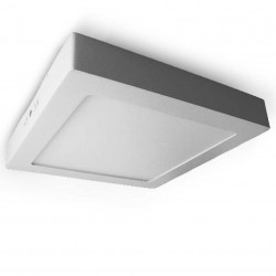 Downlight LED de superficie cuadrado 18W 225mm 1630 Lm